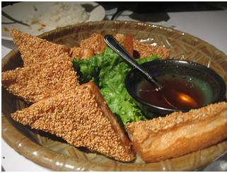 Toast di gamberi al sesamo cinesi for Gamberi alla piastra cinesi