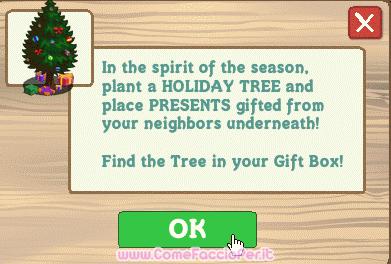 albero di natale gift farmville