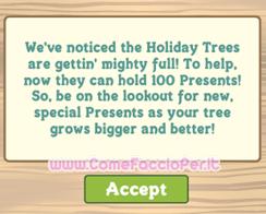 100 regali albero farmville
