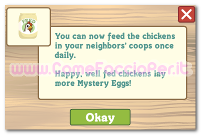 farmville chicken feed