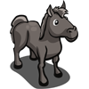 animal_horse_gray_icon