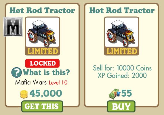 hot rod tractor farmville
