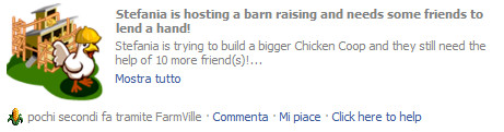Farmville : espandere il Chicken Coop buildings