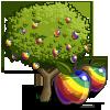 Rainbow Apple Tree