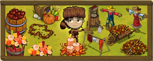 Frontierville decorazioni d 39 autunno - Decorazioni d autunno ...