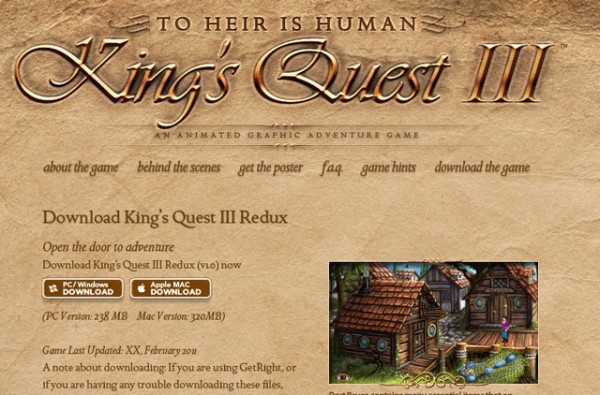 kings quest III 600x395