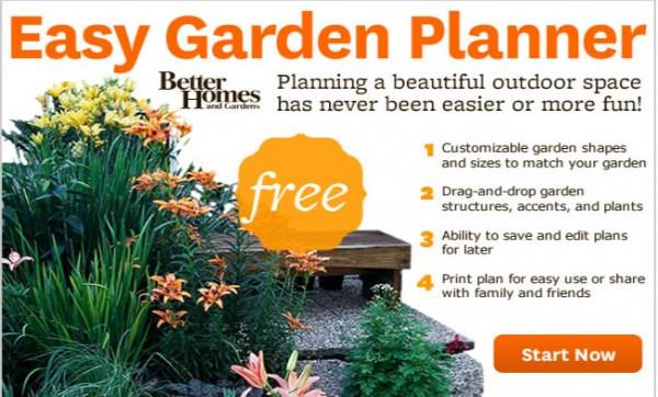 Disegnare e progettare il giardino online gratis for Plan your garden online