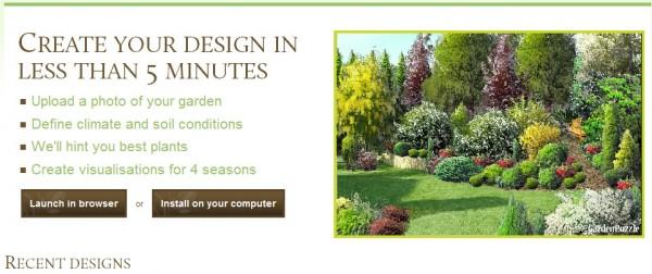 Disegnare e progettare il giardino online gratis for Progettazione giardini software