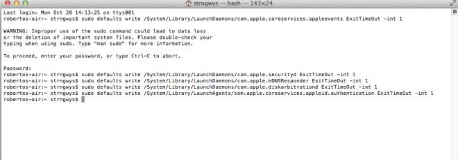 OS X 10.9 Mavericks ed il problema della password dell'email