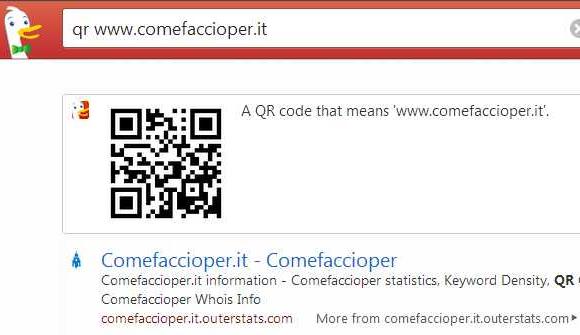 creare qr code