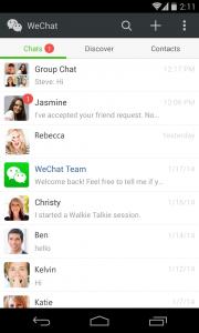 Migliora la tua vita sociale con WeChat 5.2