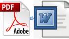 Convertire da pdf a word senza installare alcun software