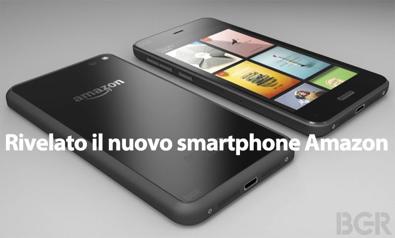 Smartphone Amazon finalmente le foto