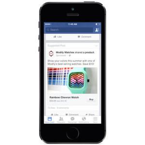 Comprare con Facebook